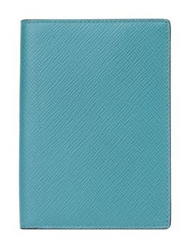 Panama P/Port Cover Petrol by Smythson
