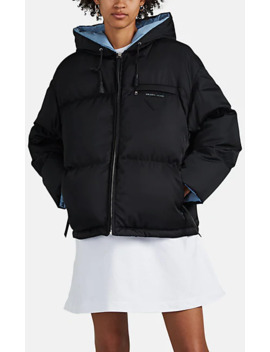 Tech Twill Down Puffer Coat by Prada