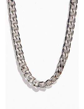 Chunky Curb Chain Necklace by Urban Outfitters