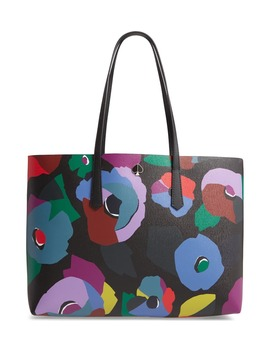 Large Molly Floral Collage Leather Tote by Kate Spade New York