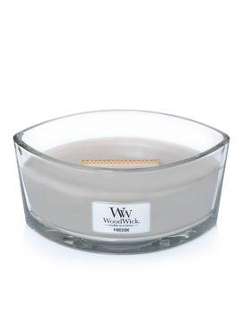 Lumanare Parfumata Ellipse Fireside, Wood Wick® by Wood Wick