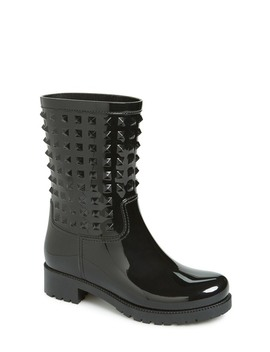 'rockstud' Rain Boot (Women) by Valentino