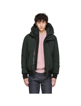 Green Down Dixon Nf Jacket by Mackage