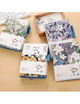 Cute Kawaii Hand Books Korean Stationery Leather Diary Travel Journal Notebook Blank Dot Weekly Planner Sketch Book A6 Note Book by Wish
