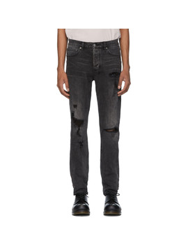 Black Chitch Rat Angst Trashed Jeans by Ksubi