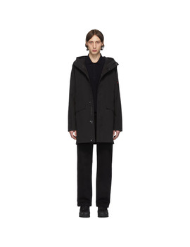 Black One Layer Parka by 49 Winters
