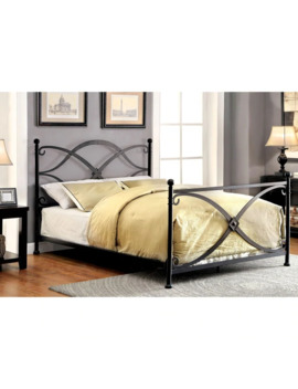Oria Contemporary Matte Black Four Poster Matte Black Bed By Foa   Twin by Furniture Of America