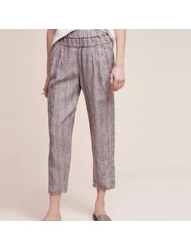 Hei Hei Linen Jogger Pants! by Anthropologie