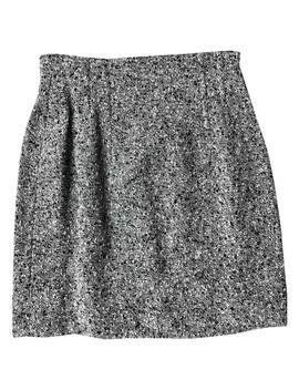 Wool Mini Skirt by Rena Lange