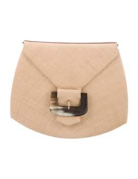 Vintage Raffia Flap Bag by Givenchy
