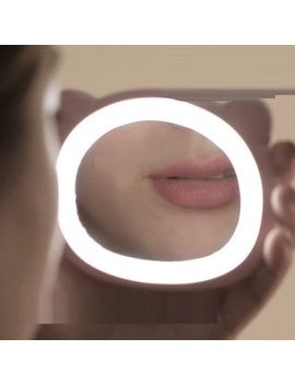 Livesmart   Bear Rechargeable Led Ring Light With Portable Mirror by Livesmart