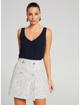 Take The Lead Boucle Skirt by Portmans