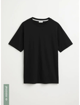 60/40 Organic Recycled Tee In Black by Frank & Oak