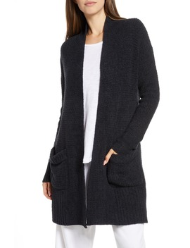 Cozy Chic® Lite Long Weekend Cardigan by Barefoot Dreams