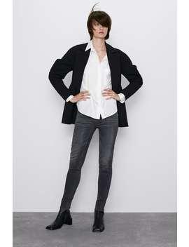 Jean Z1975 Taille Normale Skinny Tout Voir Jeans by Zara