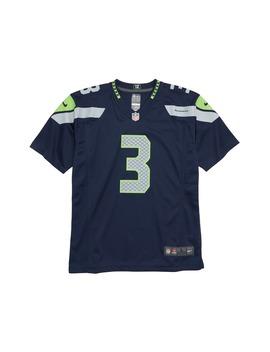 Nfl Logo Seattle Seahawks Russell Wilson Jersey by Nike