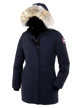 Victoria Down Parka With Genuine Coyote Fur Trim by Canada Goose