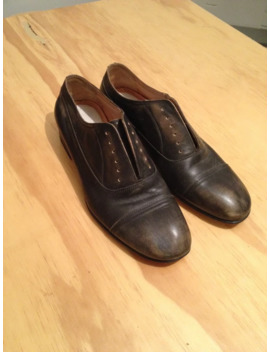 Laced Oxford Distressed Brown by Maison Margiela  ×
