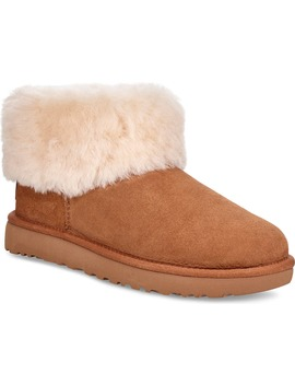 Classic Mini Fluff Genuine Shearling Bootie by Ugg®