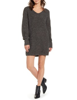 U Neck Sweater Dress by All In Favor