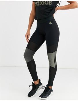 Adidas Glam Leggings In Black by Adidas
