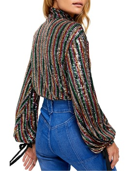 Midnight City Sequin Top by Free People