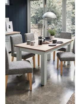 Malvern 6 10 Seater Double Extending Dining Table by Next