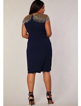 Curve Nadya Dress by Virgos Lounge