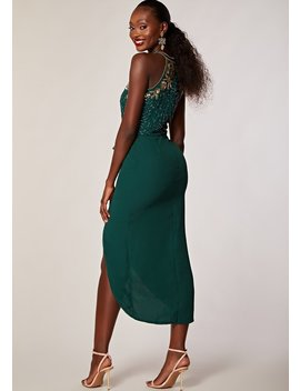 Regan Dress Green by Virgos Lounge