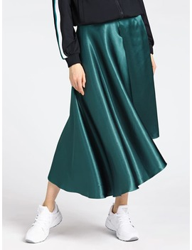 Viscose Blend Skirt With Belt by Guess