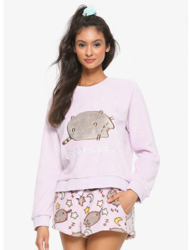 Pusheen Super Lazy Girls Plush Sleep Set by Hot Topic