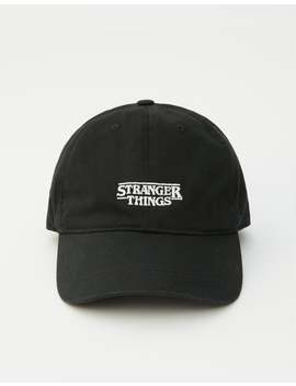 Zwarte Stranger Things 3 Pet by Pull & Bear