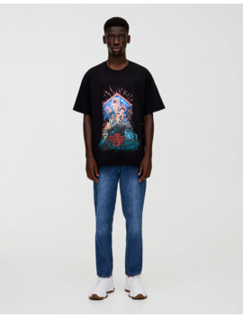 T Shirt Stranger Things 3 Demogorgon by Pull & Bear