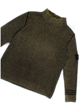 Green Corrosion Sweater by Stone Island  ×