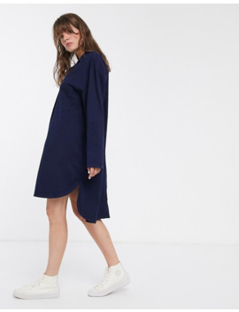 Waven Kerr Oversized Denim Shirt Dress by WÅven