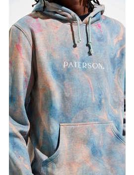 Paterson Lakeside Marble Dye Hoodie Sweatshirt  by Paterson