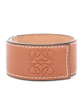 Leather Snap Bracelet by Loewe