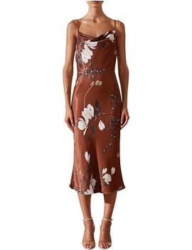 St Lucia Bias Cowl Slip Dress by Shona Joy