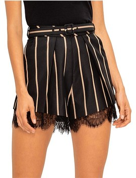 Tailoring Stripe Shorts by Self Portrait