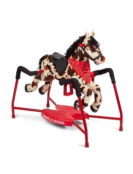 Radio Flyer Freckles Interactive Riding Horse by Radio Flyer