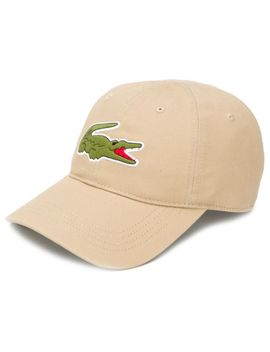 Embroidered Logo Baseball Cap by Lacoste