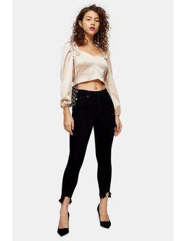 Petite Black Jag Hem Jamie Jeans by Topshop