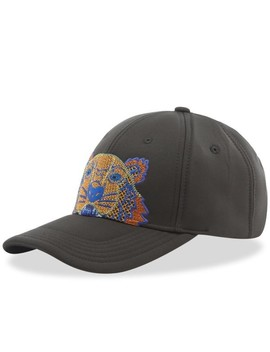 Kenzo Tiger Embroidered Neoprene Cap by Kenzo