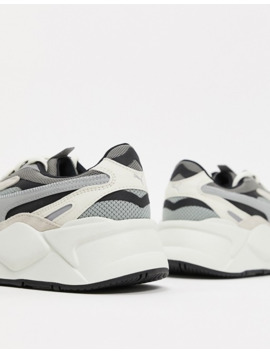 Rs X3 Puzzle Sneakers In Off White by Puma