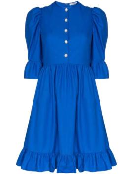 Prairie Ruffled Mini Dress by Batsheva