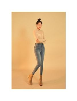 Chuu   Washed Skinny  5kg Jeans Vol.113 by Chuu
