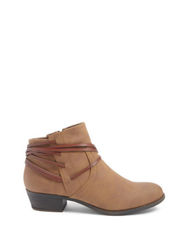 Madden Girl Strappy Booties by Forever 21