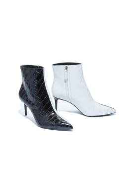 Frema Two Tone Croc Bootie by Alice And Olivia