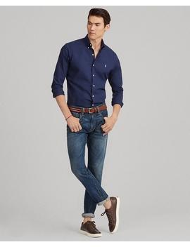 Slim Fit Poplin Shirt by Ralph Lauren