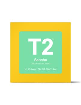 Sencha Teabag Gift Cube by T2 Tea